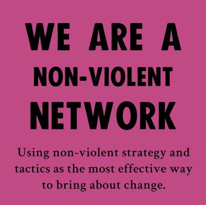 Non-violent Direct Action Training for Rebel creative actions!